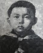 Henrik_Jacob_Kleiner Jong Un, 30 x 23,5 cm, Knete, 2014 Kopie