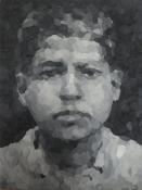 Henrik_Jacob_Kleiner Saddam, 25cm x 18,5 cm, Knete, 2014 web