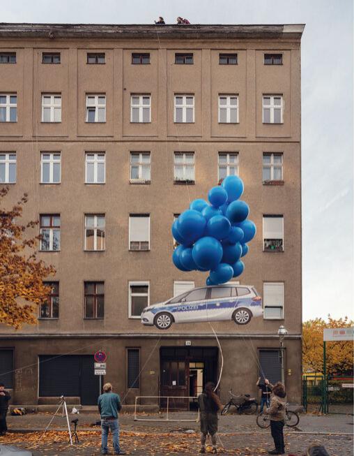 Henrik Jacob_Blue Balloon_Plakat 2020_Foto_Stefanie Rumpler